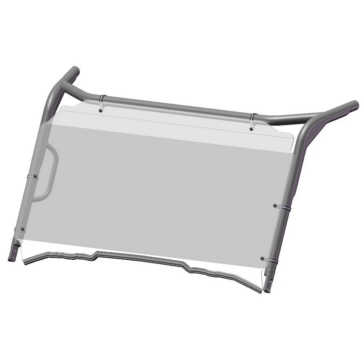 Direction 2 Complete Foldable Full Winshield GP Front - Honda - Lexan Polycarbonate