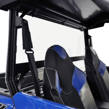 Direction 2 Rear Windshield Rear - Polaris - Lexan Polycarbonate