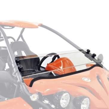 Direction 2 Fixed Short Windshield Front - Chironex - Lexan Polycarbonate