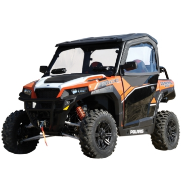 SEIZMIK Framed Door Upper Kit Polaris - UTV - Complete door