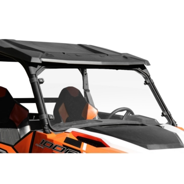 SEIZMIK Full Windshield Front - Polaris - Polycarbonate