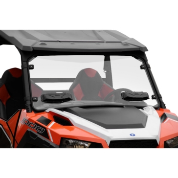 SEIZMIK Versa-Vent Windshield Front - Polaris - Polycarbonate
