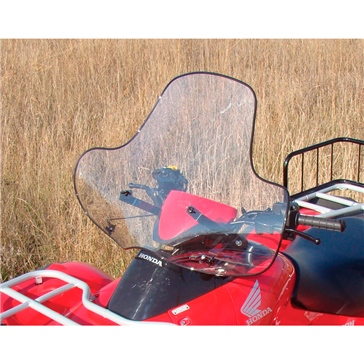 Front - Quick release mount / Fixed FUSE ATV Quick Release Windshield