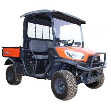 SEIZMIK Kubota Full Vented Windshield Front - Kubota - Polycarbonate
