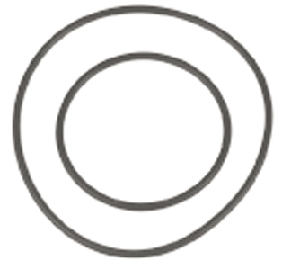 SIERRA Exhaust Elbow Gasket 18-7512