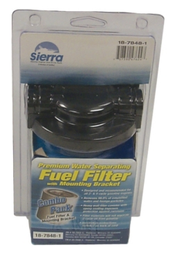 Ensemble de séparateur d'eau de carburant 18-7848-1 SIERRA