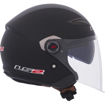 Solid LS2 OF569 Open-Face Helmet