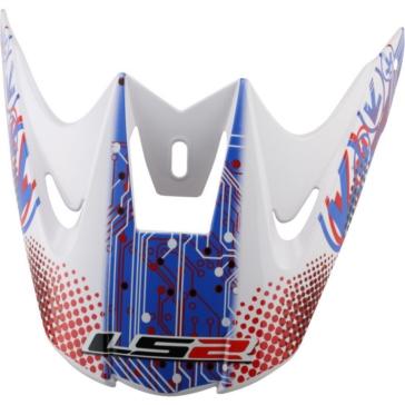 MX426 LS2 Peak for MX426 Silicon Helmet