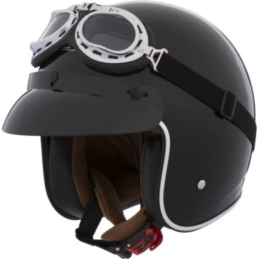 LS2 Bobber Open-Face Helmet Solid