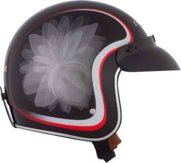 Glow LS2 Bobber OF583 Open-Face Helmet