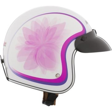 LS2 Bobber Open-Face Helmet Glow