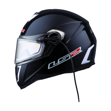 Solid LS2 FF387 Winter Full-Face Helmet