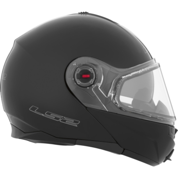 Solid - Double Shield LS2 FF386 Modular Helmet, Winter