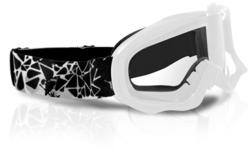 White CKX Falcon Goggles, Summer