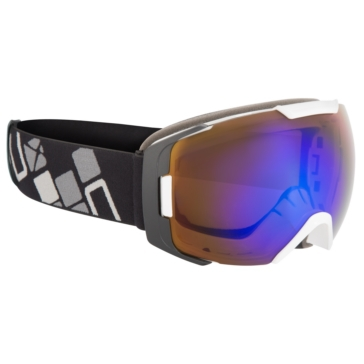 Black, White CKX Hawkeye Goggles, Summer