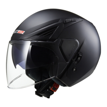 Solid LS2 Bishop OF586 Open-Face Helmet