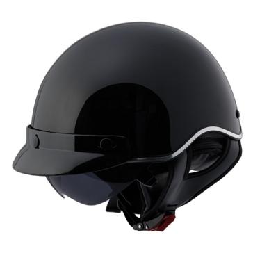 Solid LS2 Half Helmet SC3