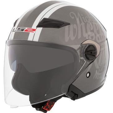 LS2 Track Open-Face Helmet Party