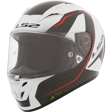 LS2 Arrow C Full-Face Helmet Carbon - Summer