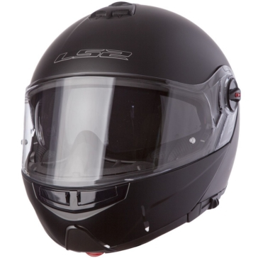 Solid - Single Shield LS2 Strobe FF325 Modular Helmet, Summer