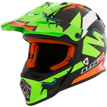 LS2 Fast MX437 Off-Road Helmet Replica