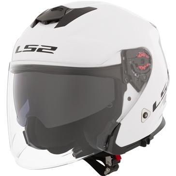 LS2 Infinity Open-Face Helmet Solid