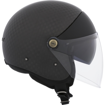 LS2 Cabrio Open-Face Helmet Carbon