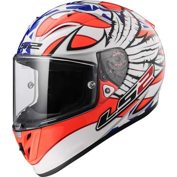 LS2 Arrow R Full-Face Helmet Yonny