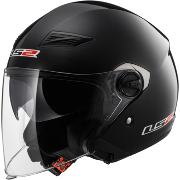 Solid LS2 OF569 Track Open-Face Helmet