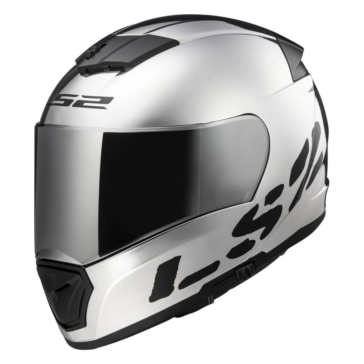 LS2 Breaker Full-Face Helmet Chrome - Summer