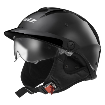 LS2 Rebellion Half Helmet Solid