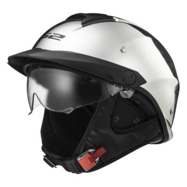 LS2 Rebellion Half Helmet Solid