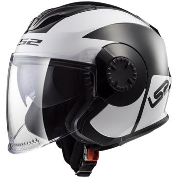 LS2 Verso Open-Face Helmet Mobile