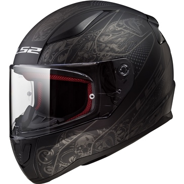 LS2 Rapid Full-Face Helmet Crypt - Summer