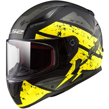 LS2 Rapid Full-Face Helmet Deadbolt - Summer