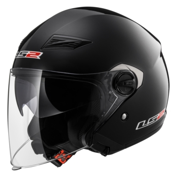 LS2 Casque Ouvert Track Solid