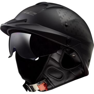 LS2 Rebellion Half Helmet 1812