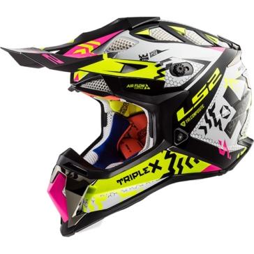 LS2 Subverter Off-Road Helmet Triplex