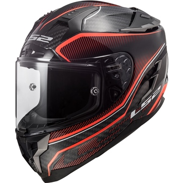 LS2 Challenger Carbon Full-Face Helmet Edge