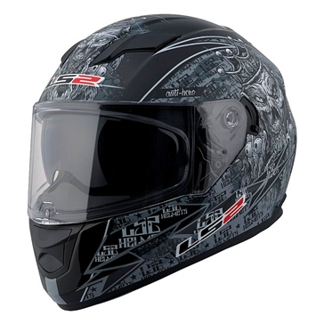 LS2 Stream Full-Face Helmet Anti-Hero - Summer