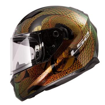 LS2 Stream Full-Face Helmet Snake - Summer