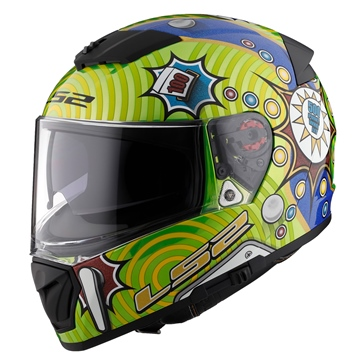 LS2 Breaker Full-Face Helmet Pinball
