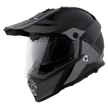 LS2 Pioneer Off-Road Helmet Elevation