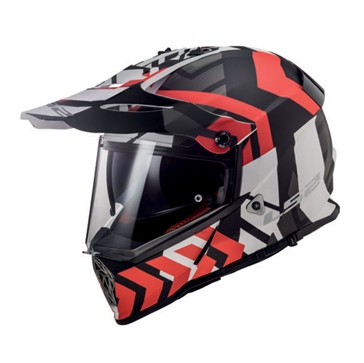 LS2 Casque Hors-Route Pioneer Xtreme