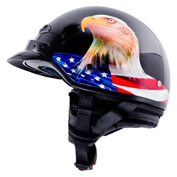 LS2 Bagger Half Helmet Murica