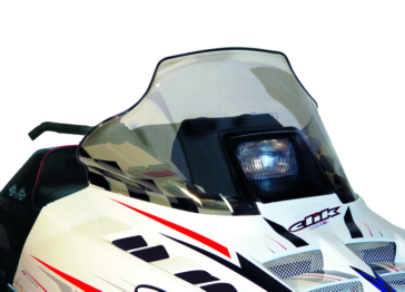 POWERMADD Indy STD Chassis, Windshield Front - Polaris - Polycarbonate
