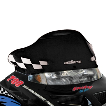 POWERMADD Gen II Chassis, Windshield Front - Polaris - Polycarbonate