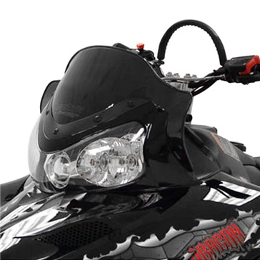 POWERMADD IQ Chassis, Windshield Front - Polaris - Polycarbonate