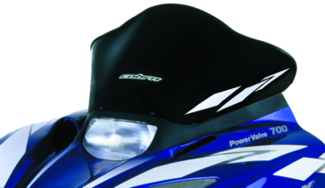 Front POWERMADD SX Chassis Windshield