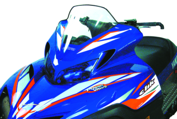 Powermadd Cobra Windshield Fits Yamaha